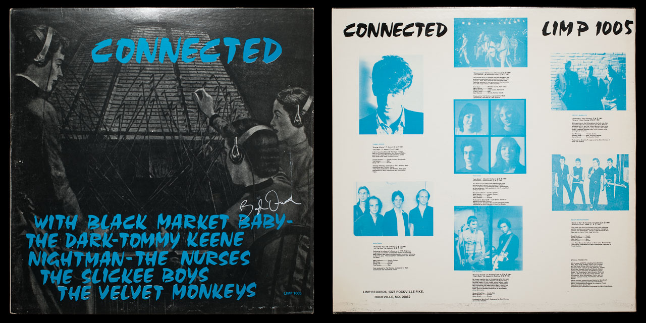 Connected second cover on Limp Records