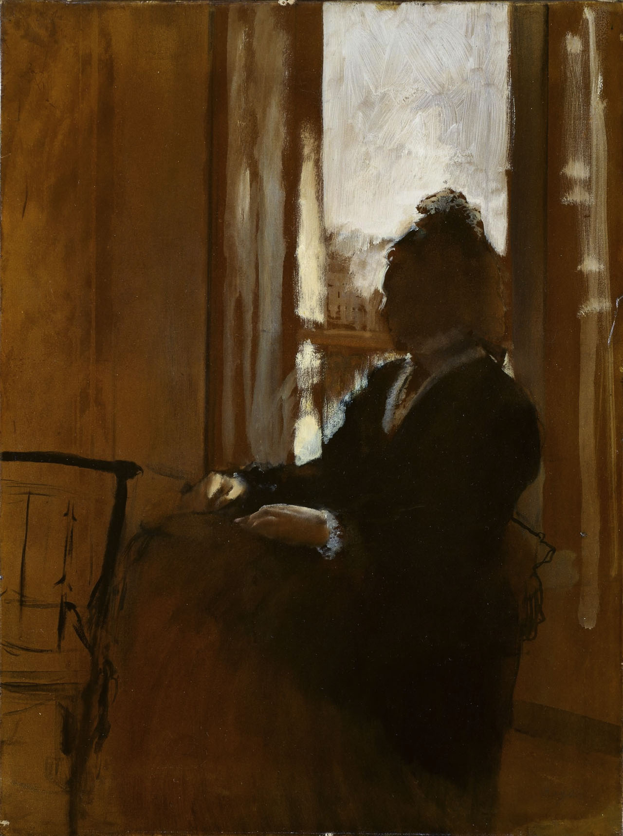 Edgar Degas: Woman at a Window, Courtauld P.1932.SC.88