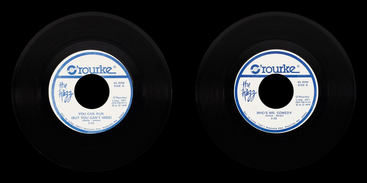 Razz You Can Run DJ vinyl on Limp Records