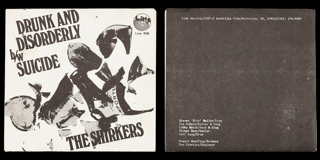 Shirkers Drunk and Disorderly band covers on Limp Records