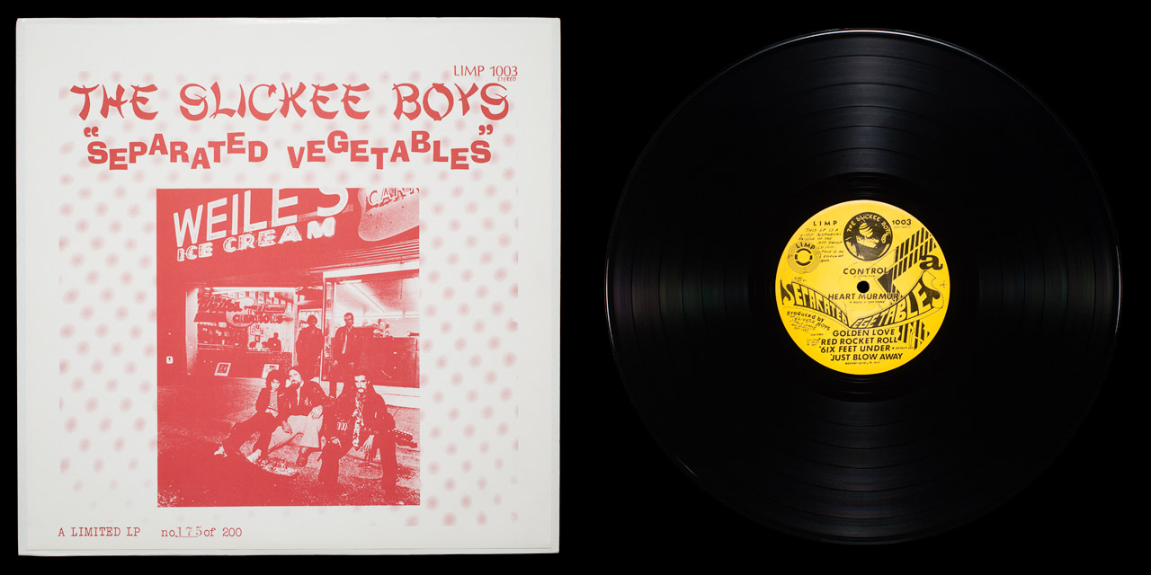 Slickee Boys Separated Vegetables front on Limp Records