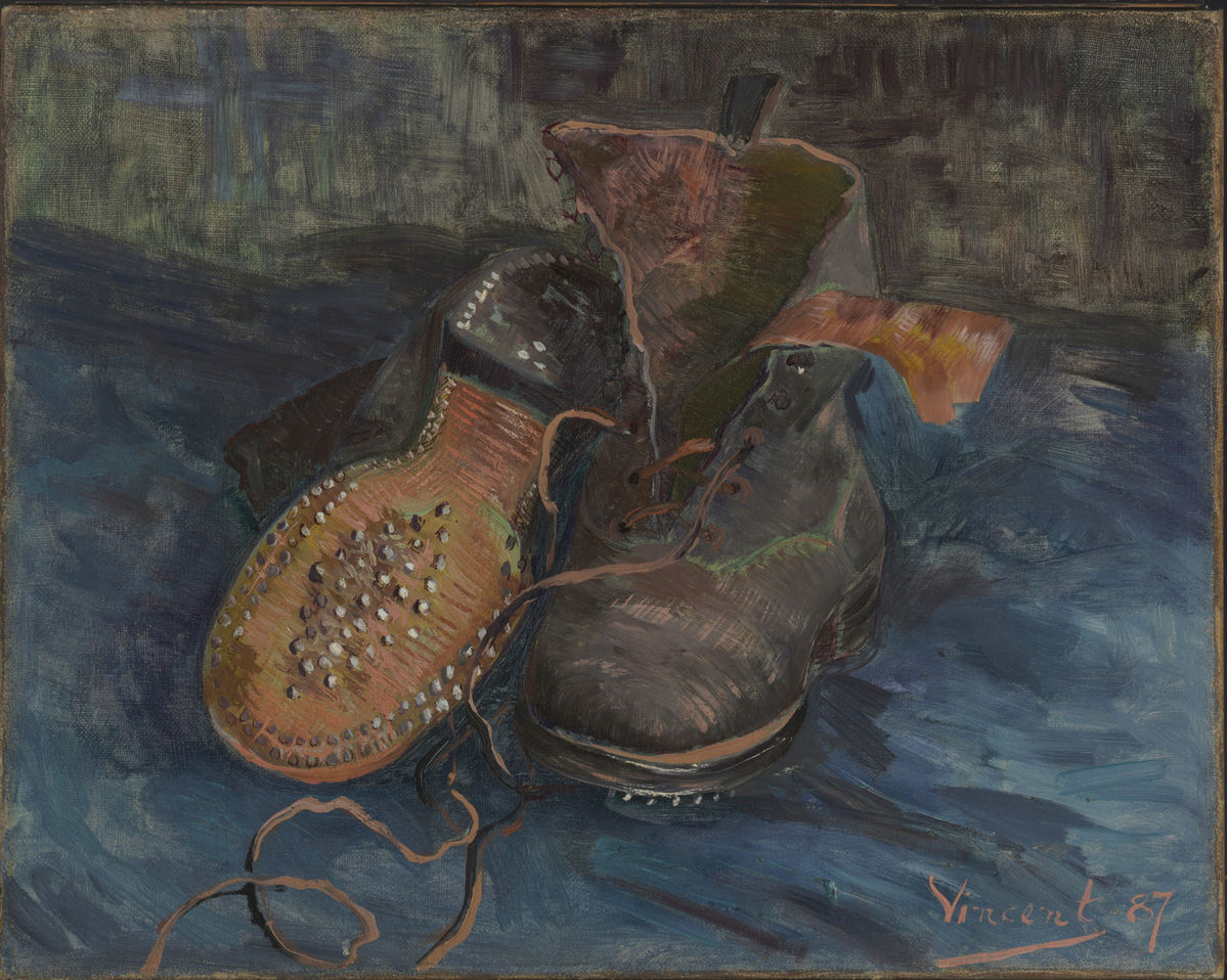 Vincent van Gogh: A Pair of Boots (F333, JH1236), Baltimore Museum of Art 1950.302